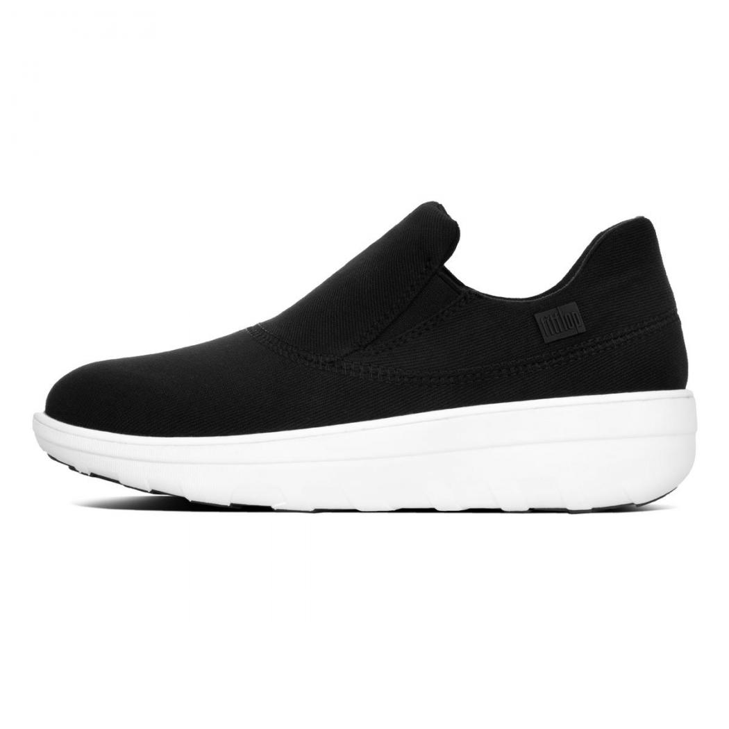 ef1b29889d4c07 ... Fitflop LOAFF SPORTY Slip-On-Sneaker Damen Schwarz Return to previous  page. by Fmeaddons. Sale. Zoom images
