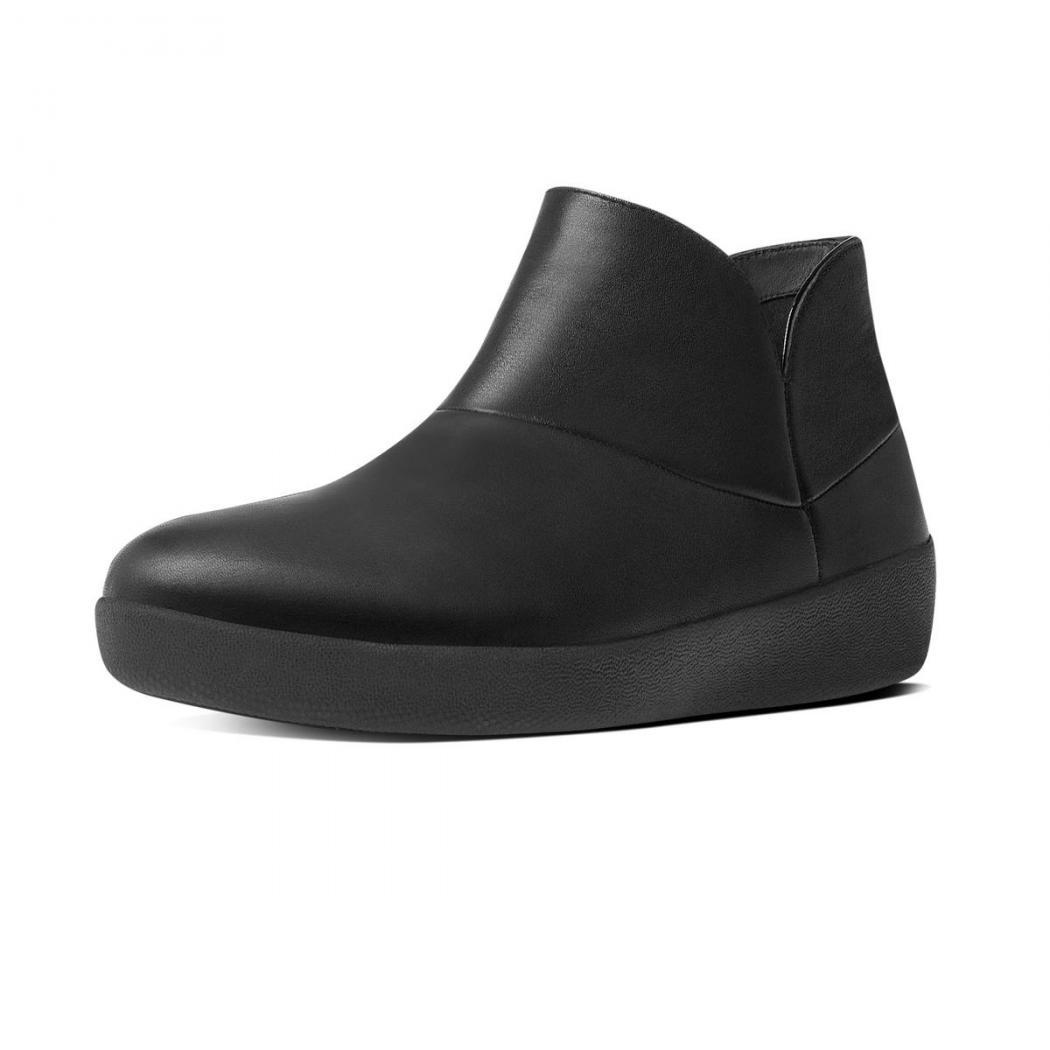 9866f570044ed8 Schwarz – Fitflop SUPERMOD II Crinkle-Patent Ankle Boots Damen Schwarz. €  156.40 € 65.54. Sale. Vorrätig